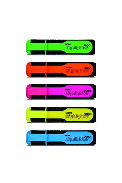 Noki Fosforlu Kalem 5 Renk Set 2