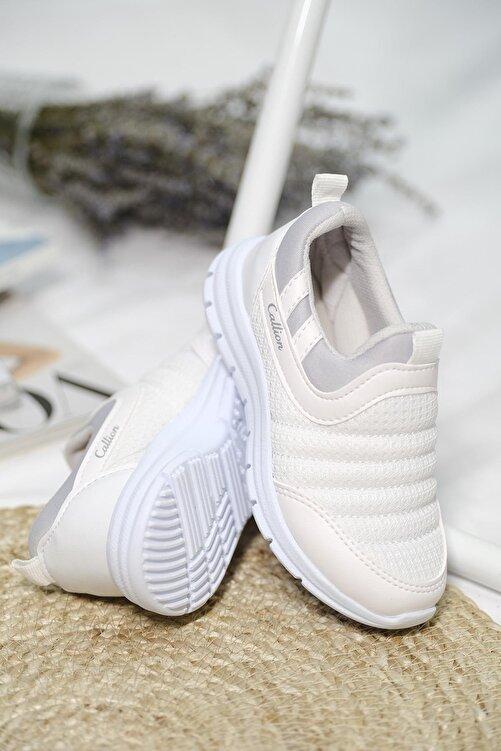 Oksit Calli Tabitha Bağcıksız File Detaylı Çocuk Sneaker 1