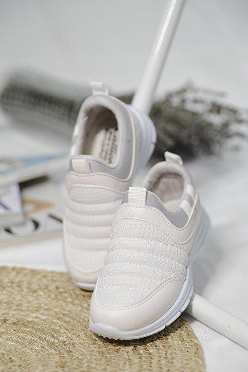 Oksit Calli Tabitha Bağcıksız File Detaylı Çocuk Sneaker 2