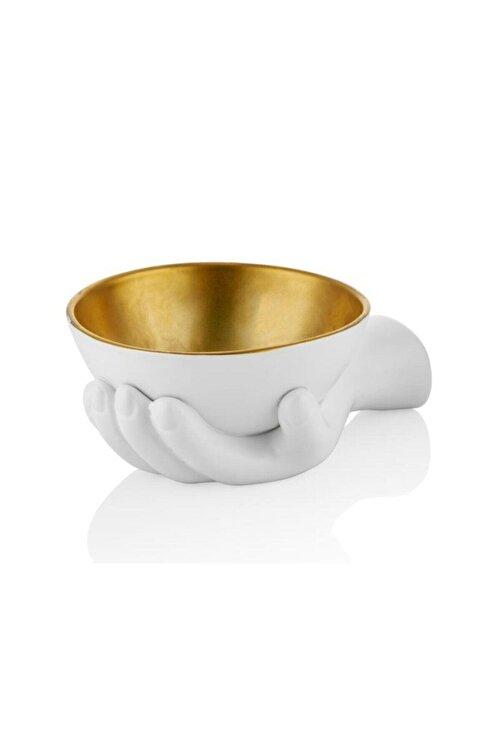 LAMEDORE Hands Gold Dekor/Kase 22 cm 1