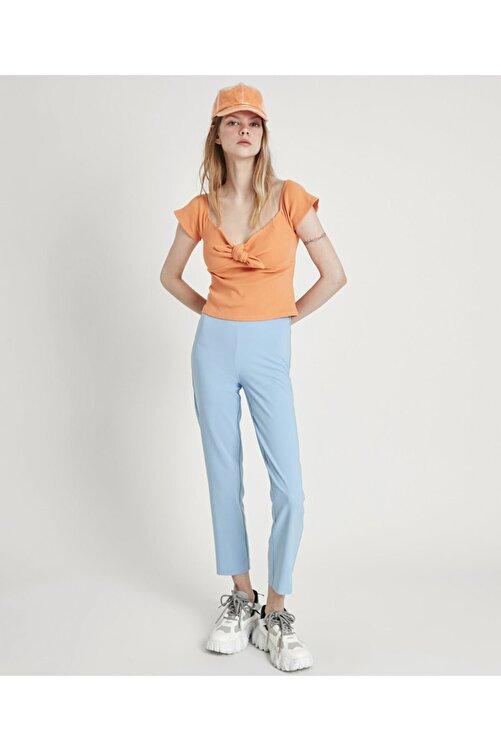 Twist Geniş Yaka Bluz 2