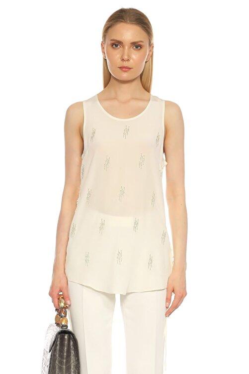 Barbara Bui Beyaz Bluz 1