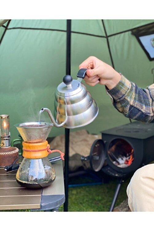 NURGAZ Campout Filtre Kahve Demliği 2