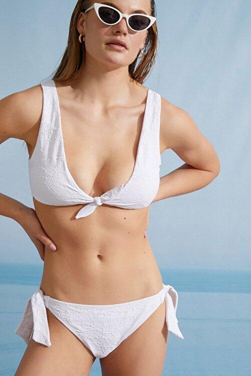 Koton Kadın Beyaz Bikini Altı 1YAK88022BM 2