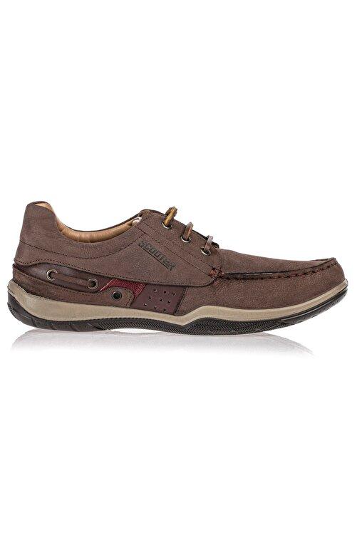 John May Deri Kahve Erkek Ayakkabı M2020NKA 1