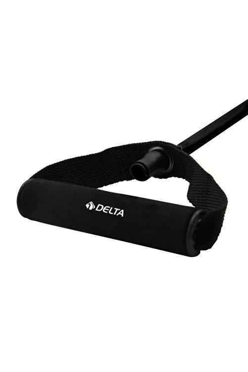 Delta Tutacaklı Orta Sert Pilates Egzersiz Direnç Plates Lastiği 2
