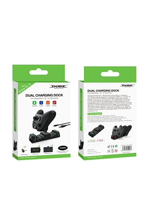 Dobe Dual Charging Dock For Xbox One S X Controller Tyx-19058 2