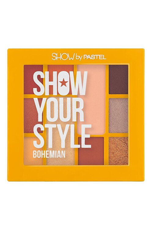 Pastel Show Your Style Eyeshadow Set Bohemian No 461 - Far Paleti 1
