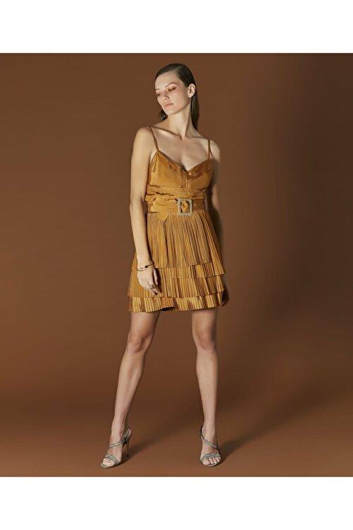 İpekyol Kadın Sarı Askılı Bluz 2