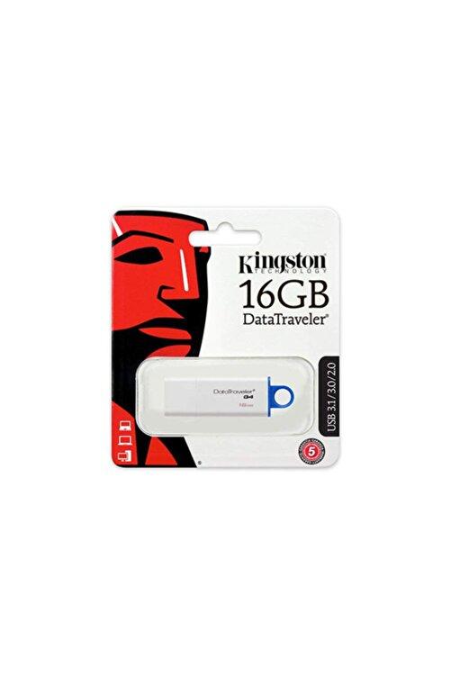 Kingston Dtıg4 16 Gb Usb 3.0 Beyaz-mavi Plastik Kasa Flash Belle 2