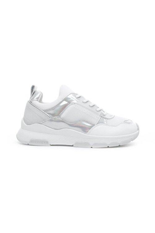 Tommy Hilfiger Tommy Kadın Ayakkabı Lıfestyle Irıdescent Sneaker Fw0fw04391 2