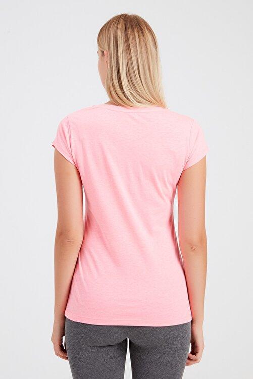New Balance Kadın T-Shirt - NB VOM TEE - V-WTT918-PNK 2