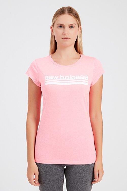 New Balance Kadın T-Shirt - NB VOM TEE - V-WTT918-PNK 1