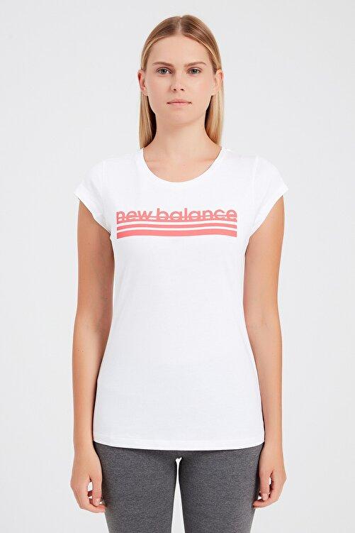 New Balance Kadın T-Shirt - NB VOM TEE - V-WTT918-WT 1