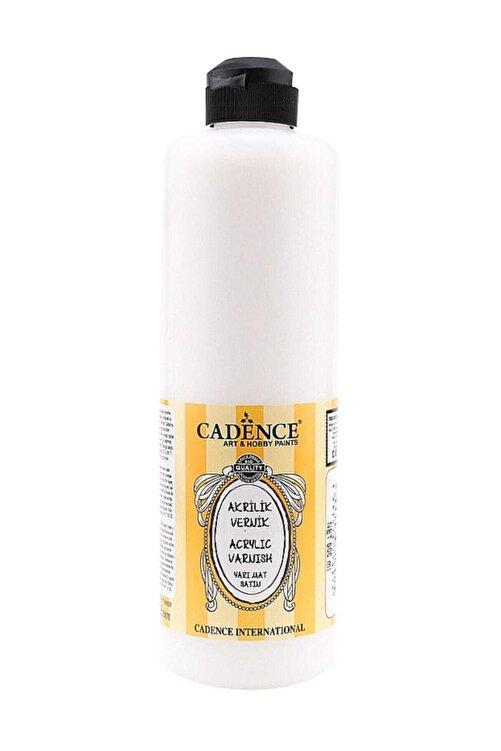 Cadence Su Bazlı Yarı Mat Vernik 500 ml. 1