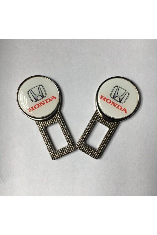 Honda Logolu Araç Kemer Susturucu 2 Adet Metal 1