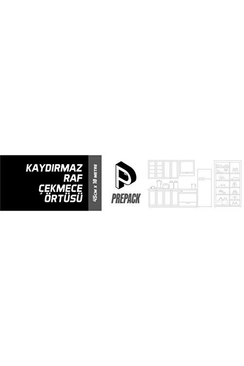 Packtech 45 Cm X 20 Metre Prepack Kaymaz Dolap Içi Çekmece Raf Örtüsü Kaydırmaz 2