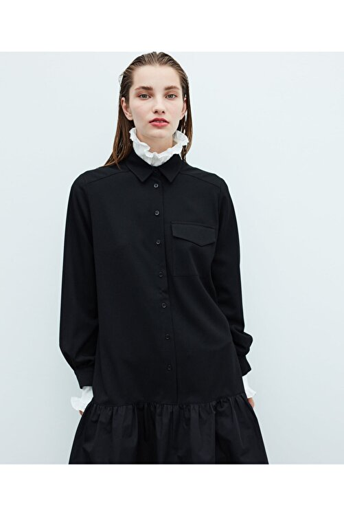 İpekyol Volanlı Elbise 2