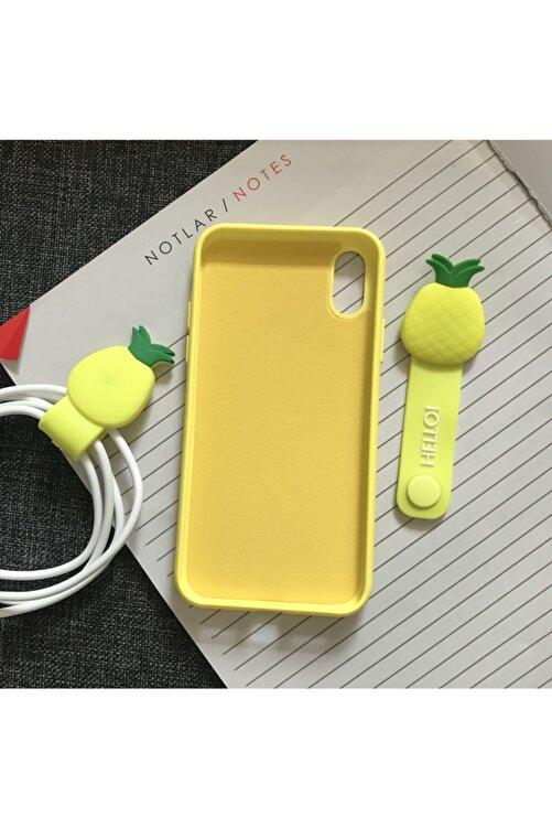 SUPPO Iphone X/xs Logolu Lansman Içi Kadife Silikon Kılıf 2