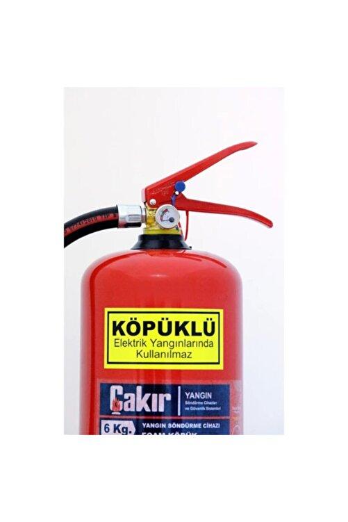 ÇAKIR Köpüklü Yangın Söndürme Cihazı 6 Kg 2