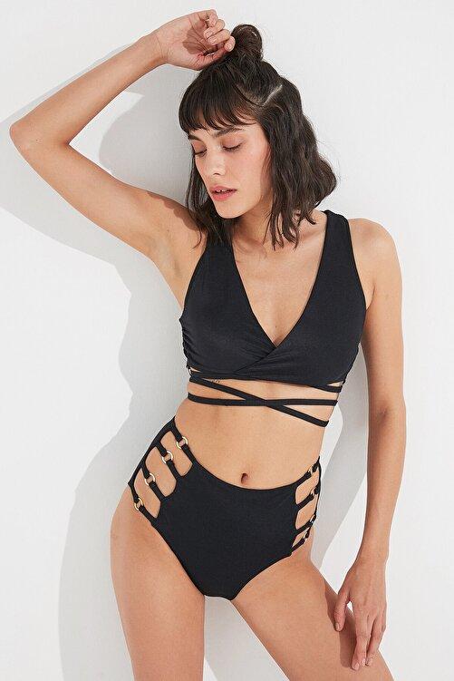 Penti Siyah Lera Tee Bikini Üstü 1