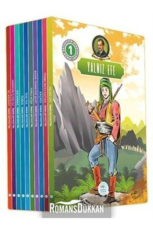 Mavi Çatı Yayınları Ömer Seyfettin Hikayeleri Seti 10 Kitap Takım 1