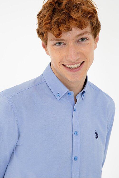 U.S. Polo Assn. Mavı Erkek Gömlek 2