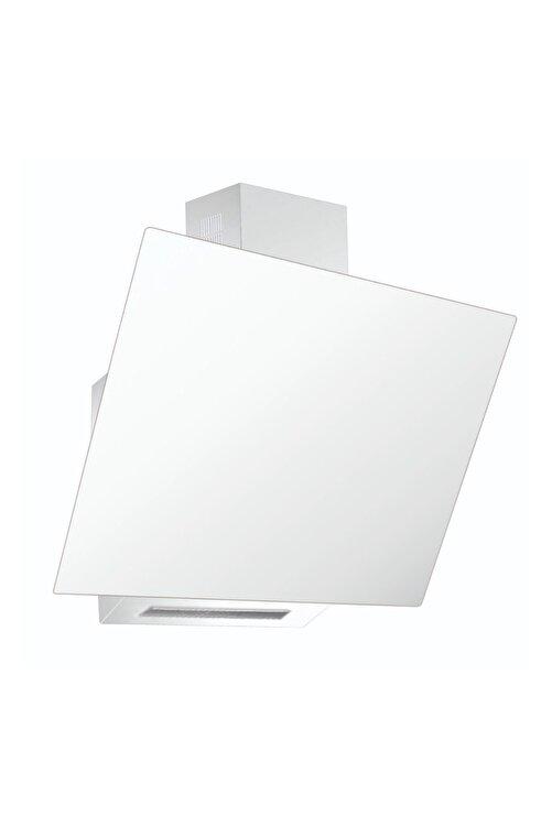 Luxell Da6-833 Beyaz Cam Davlumbaz 1