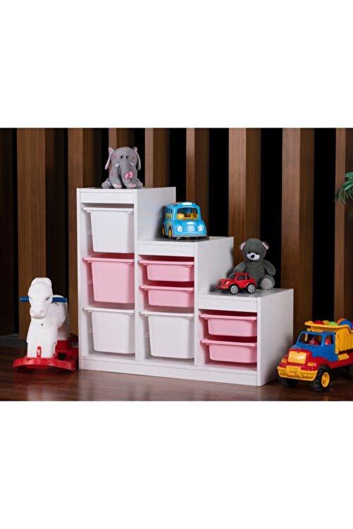 Vip Home Montessori Oyuncak Dolabı Trofast Saklama Düzenleme Ünitesi Vps-01 2