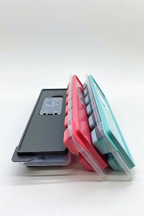 FELIX HOME Kapaklı Silikon Tabanlı Lux Buzluk 3 Adet 2