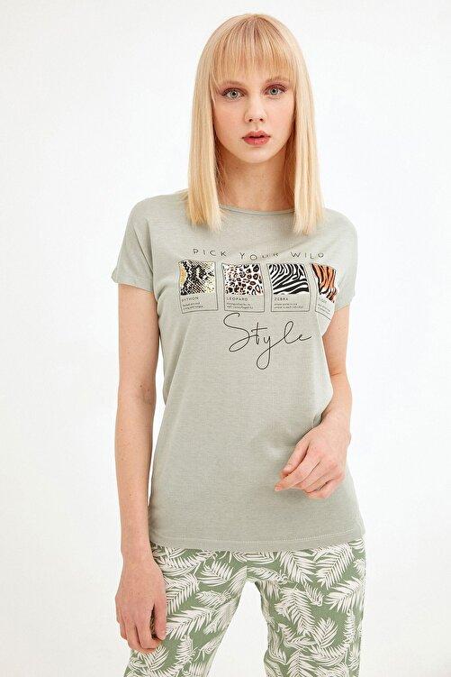 Fulla Moda Baskılı Tişört 1