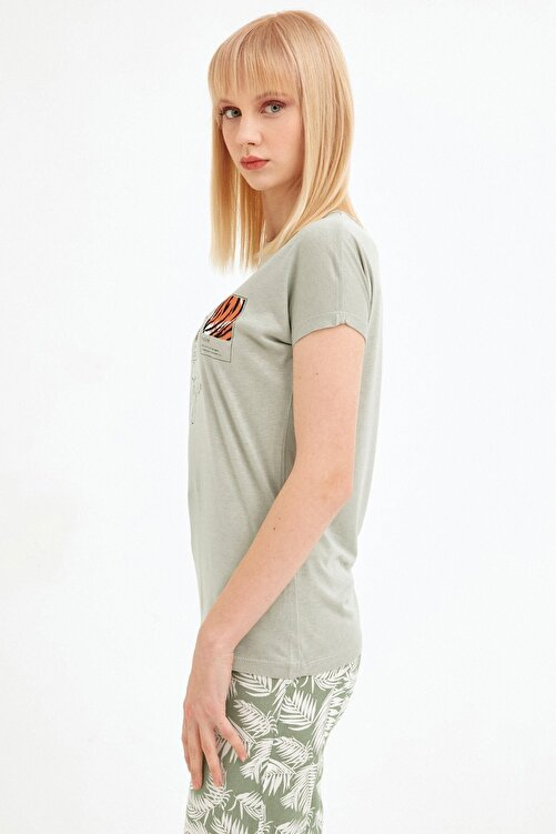 Fulla Moda Baskılı Tişört 2