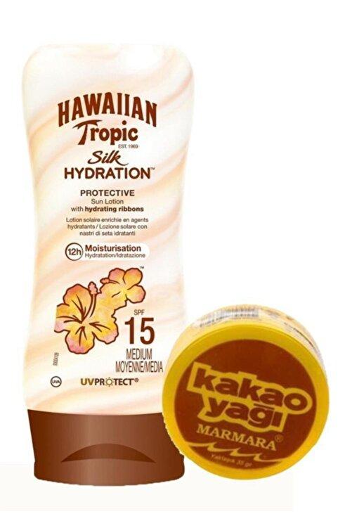 Hawaiian Tropic Güneş Koruyucu Losyon Spf 15 Bronzlaştırıcı Set 2 1