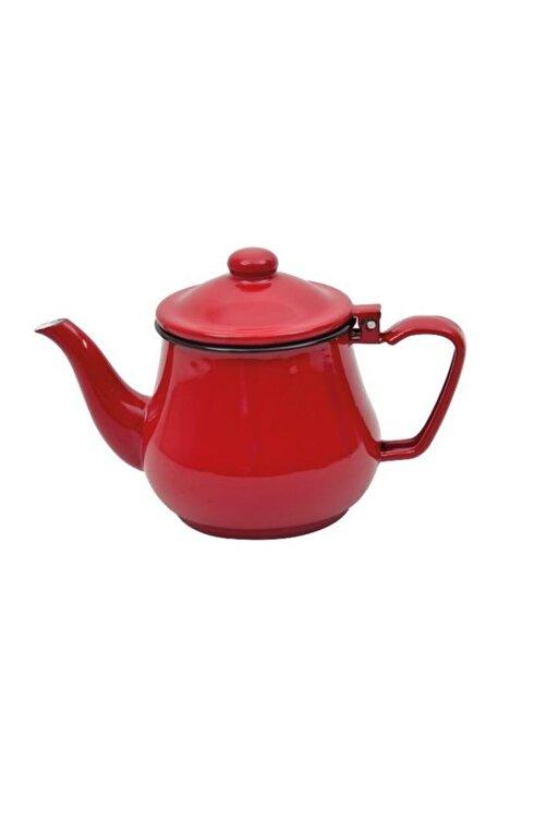 NURGAZ Campout Emaye Çaydanlık Set Kırmızı & Mavi 2