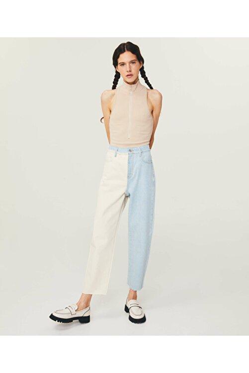 Twist High Rise Cropped Slim Jean Pantolon 1