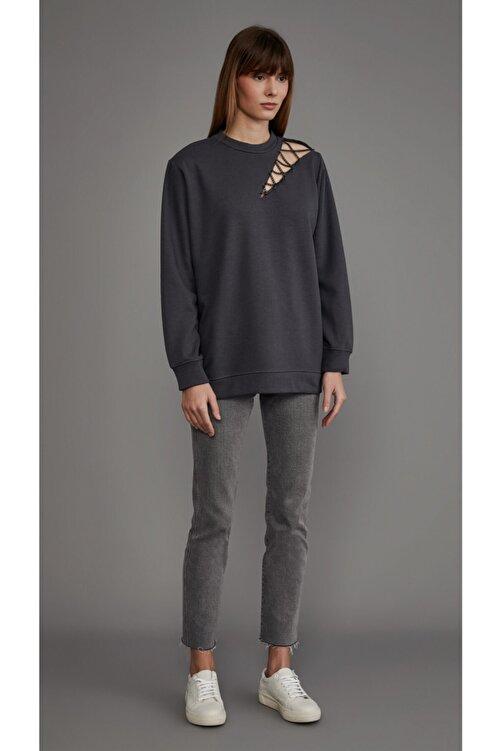 LOVEMETOO Addicted Gri Sweatshirt 1