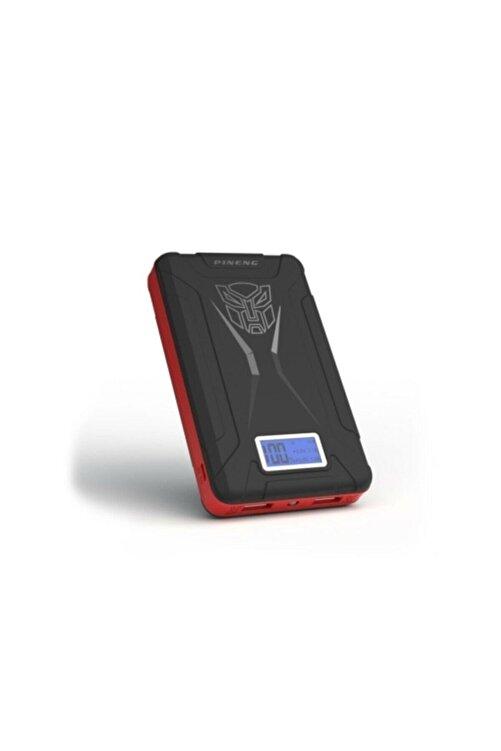 Pineng Pn-933 10000 Mah Powerbank Led Dijital Göstergeli Taşınabilir Şarj Cihazı - Siyah 1
