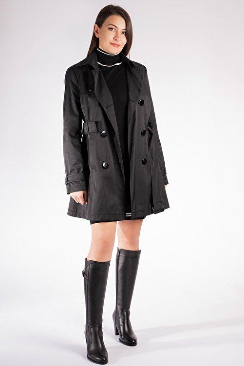 CZ London Hakiki Deri Kadın Çizme Saraçlı Topuklu Kışlık Ayakkabı 2