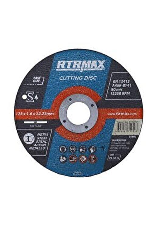 Rtrmax 10 Adet Inox Metal Kesici Taş Diski 125x1.6 Mm Spiral Avuç Içi Taşlama 1