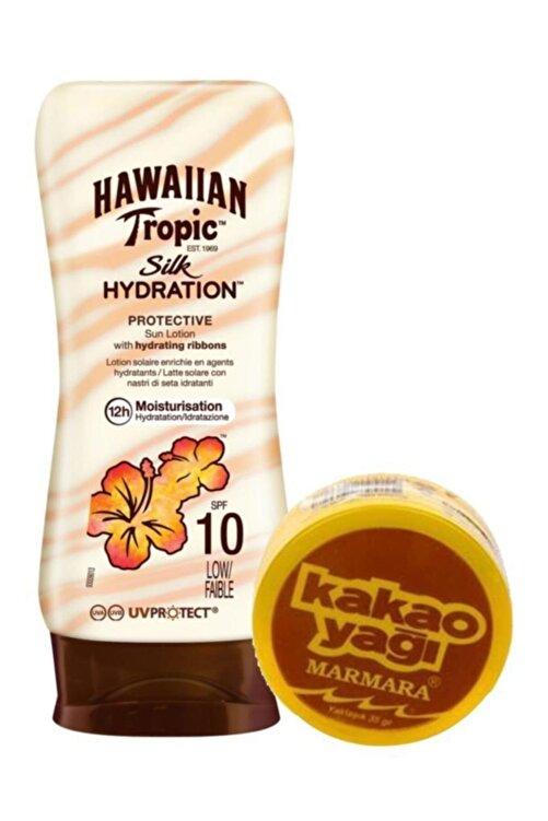 Hawaiian Tropic Güneş Koruyucu Losyon Spf 10 Bronzlaştırıcı Set 2 1