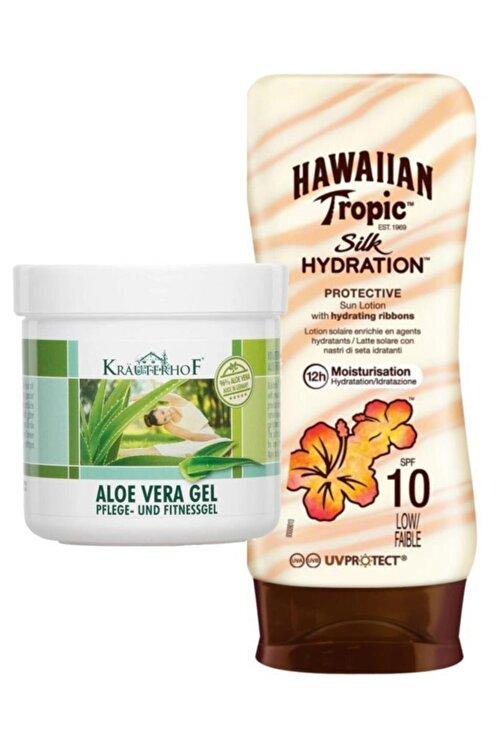 Hawaiian Tropic Güneş Koruyucu Losyon Spf 10 Yatıştırıcı Set 2 1