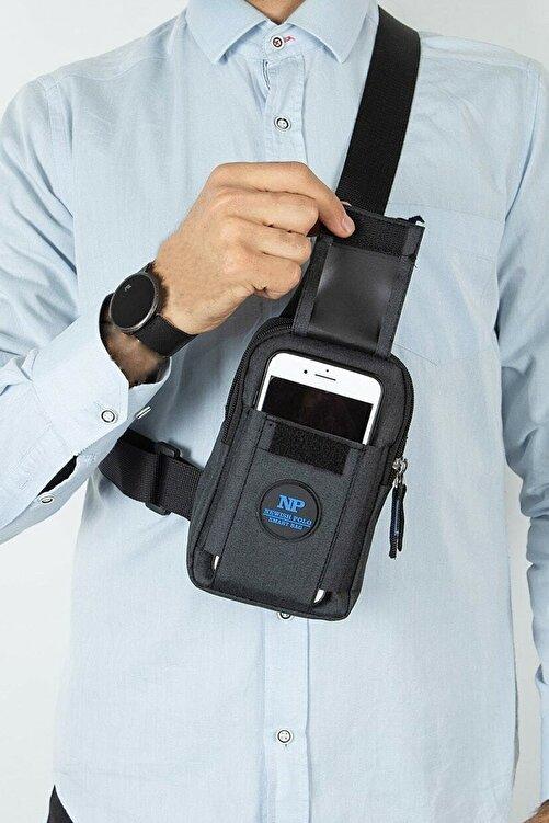 Av A Dos Unisex Keten Telefon Bölmeli Bel Ve Çapraz Omuz Çanta Göğüs Seyahet Günlük Bodybag 1