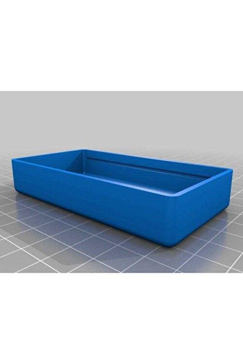 BCA Md Için Pil Kutusu Organik Plastikten Aparat Organizer Kutu Mavi 2