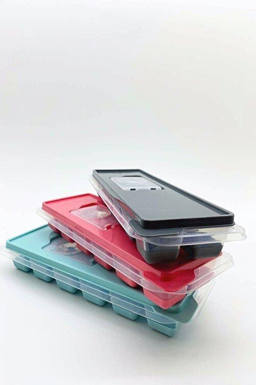 FELIX HOME Kapaklı Silikon Tabanlı Lux Buzluk 3 Adet 1