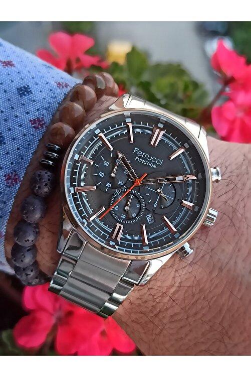 Ferrucci Function Özel Tasarım Erkek Kol Saati Bileklik 2