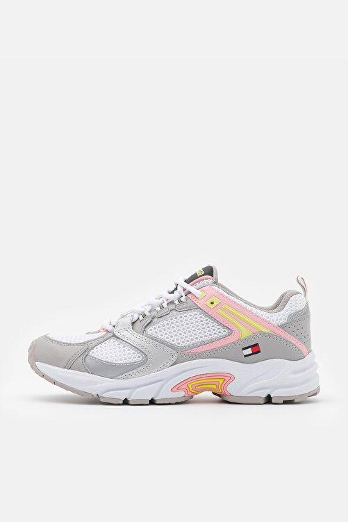 Tommy Hilfiger Kadın Gri Sneaker EN0EN01356 1