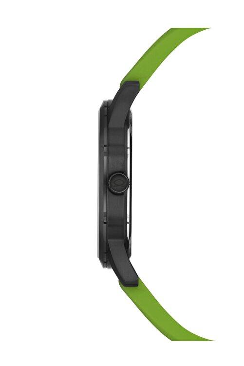 Nacar Spor Ince Kol Saati Yeşil Silikon 5 Atm Su Gecirmezlik 2