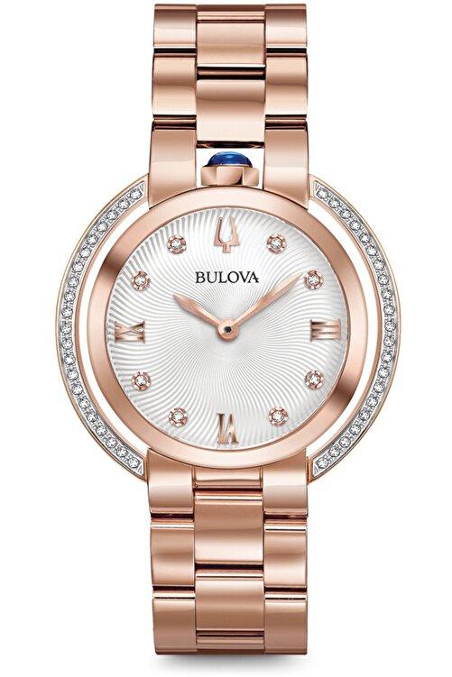 Bulova 98r248 Pırlanta Taşlı 3 Yıl Garantili Kadın Kol Saati 1