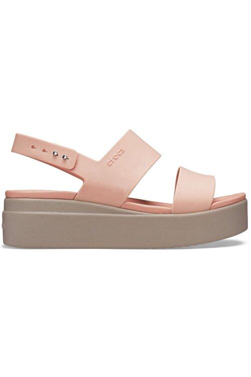 Crocs Brooklyn Low Wedge Pale Blush Sandalet 2