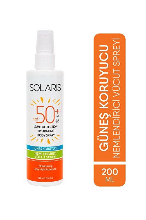 SOLARIS Güneş Koruyucu Nemlendirici Vücut Spreyi SPF 50+ 200 Ml 1